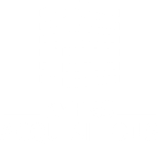 Ayers Acquisitions Logo - White